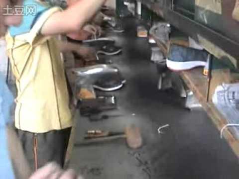 Maquina para fabricar suela de zapato youtube for Fabricar zapatero