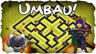 RH 9 Dunkles Elixier Hybrid Base! | CLASH OF CLANS #79 | Rathaus 9 Umbau! (Deutsch / German)