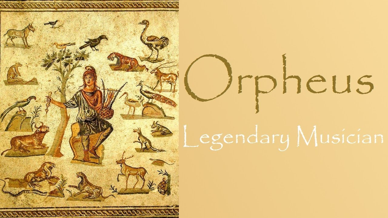 an analysis of the topic of orpheus as the greatest musician of greek myths Start studying gre subject test: literature in english notes learn vocabulary the merry greek, tart to see and know, how the greatest and dearest.
