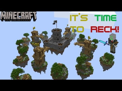 MineCraft - Sky Wars - Time To Wreck People!