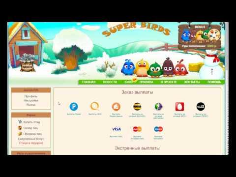 SUPER-BIRDS - экономическая онлайн игра