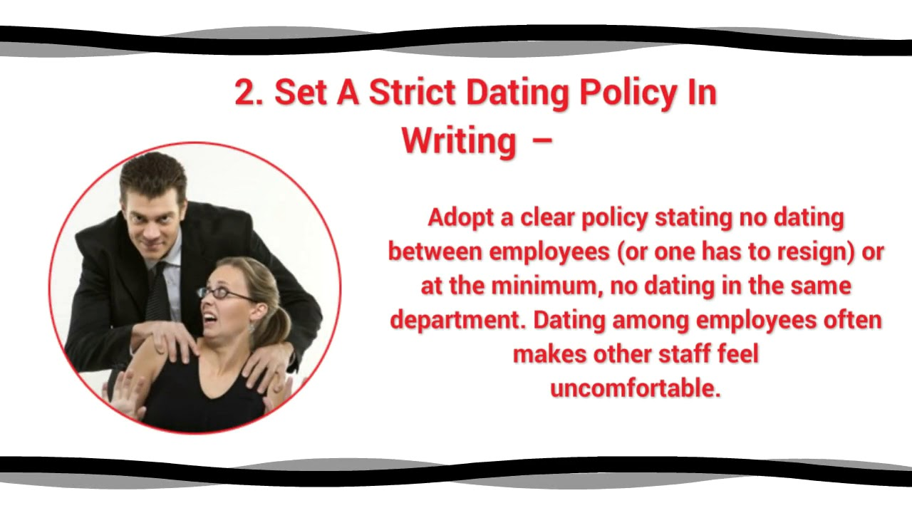 work dating policy