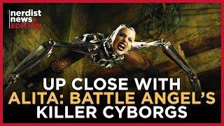 Becoming a Cyborg in Alita: Battle Angel (Nerdist News Edition)