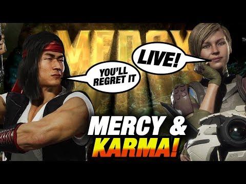 MERCY & KARMA / MK11 Liu Kang Ranked