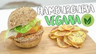 Súper hamburguesa vegana   Recetas ricas y saludables