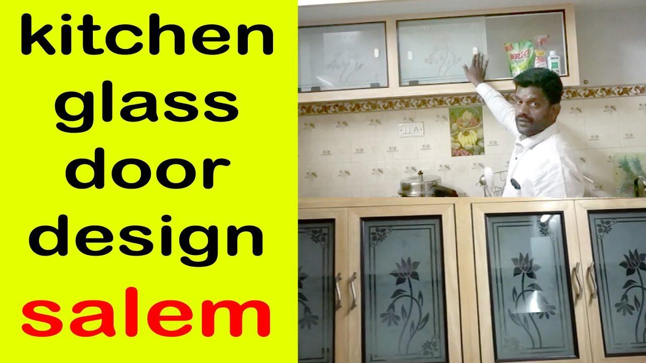 Pvc Kitchen Glass Door Design In Salem Pvc Kitchen Basket Design 9663000555 Youtube
