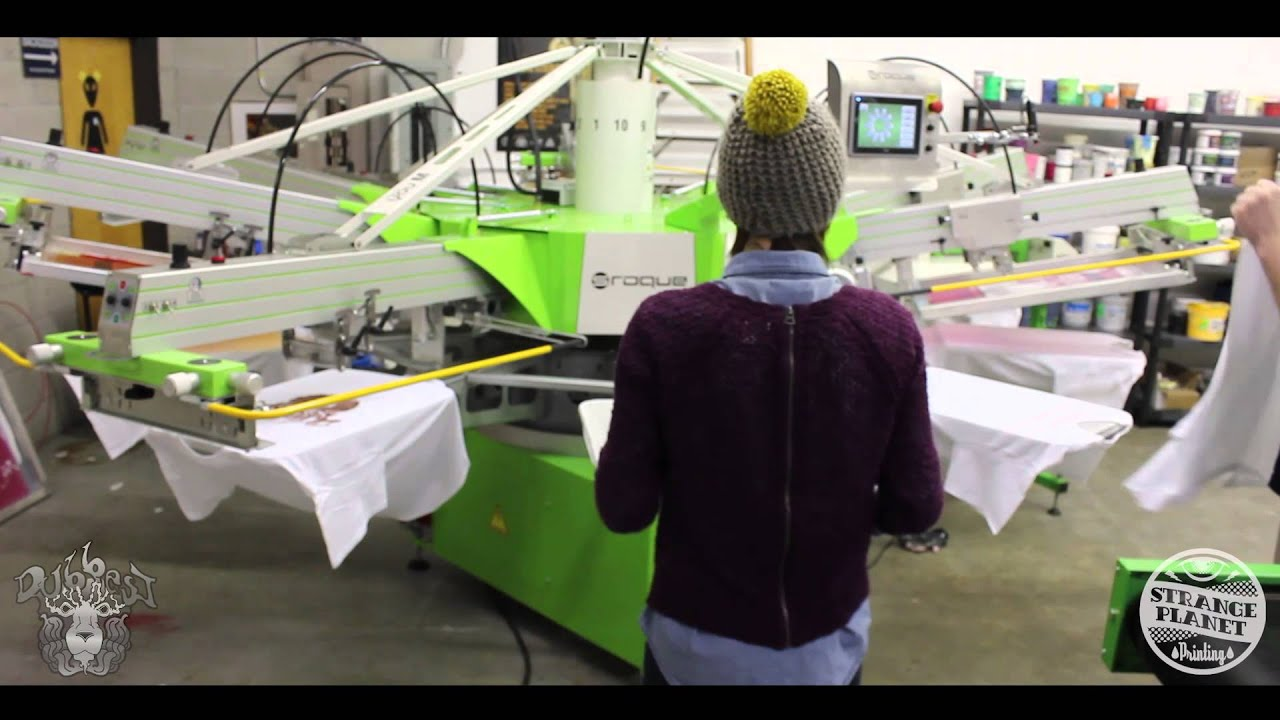 0d0c04c7 High Quality Screen Printing in Boston MA feat. DUBBEST - YouTube