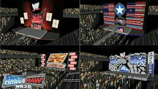 WR3D NEW ARENAS WWE WWF WCW link in a description