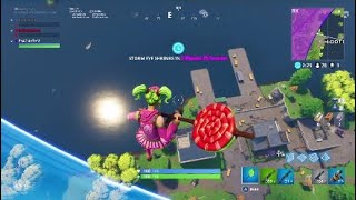 Sky base and free falling FORTNITE BATTLE ROYALE