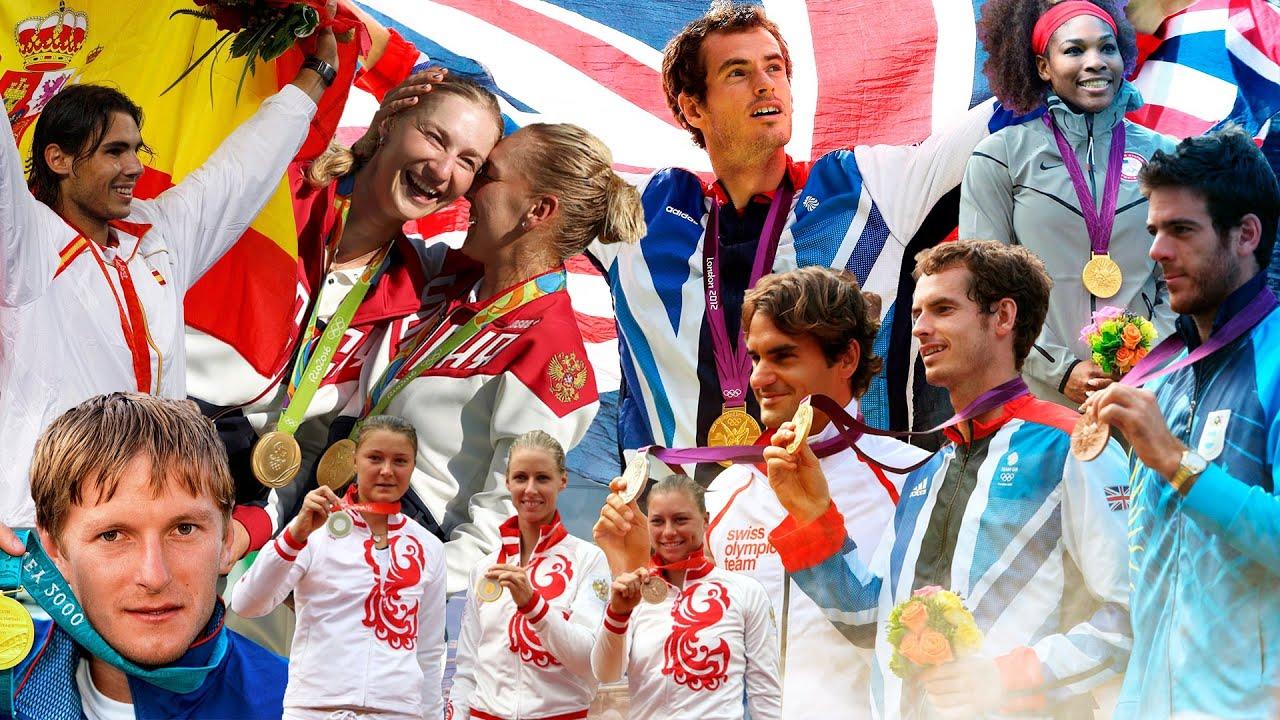 Все чемпионы Олимпийских игр в теннисе / Матчболы победителей / 1988-2016