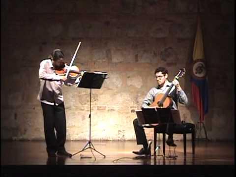 Mauro Giuliani: Sonata Op. 85. I - Allegro maestoso - Violin and guitar