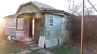 Снос старого дома 2