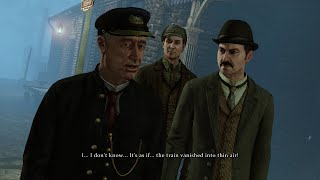 Sherlock Holmes: Crimes & Punishments - 2nd Case - Disappearing Train (Part 1)