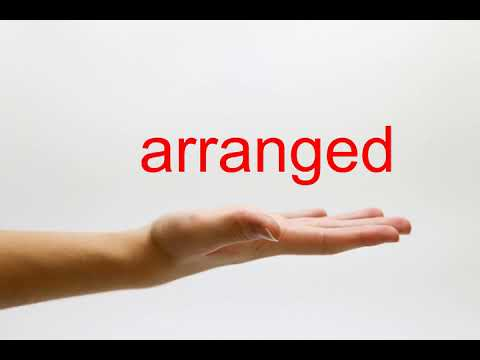 How to Pronounce arranged - American English