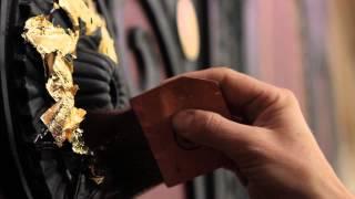 see. Painting, Inc. - Sandra Spannan - Gold Leafing Documentary