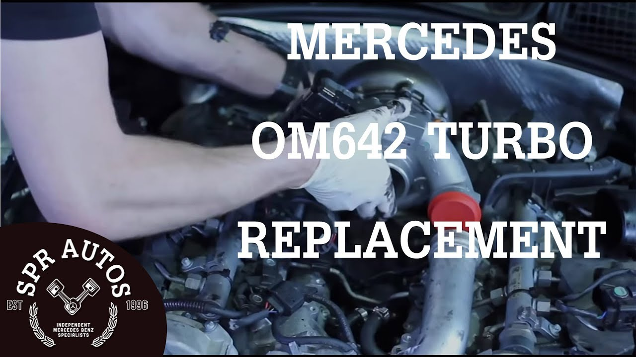 Mercedes OM642 v6 cdi Turbo replacement & inlet port shut