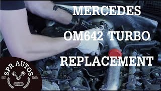 mercedes om642 v6 cdi turbo replacement inlet port shut off motor