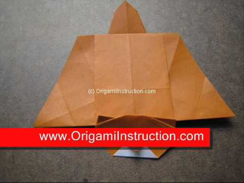 How To Make An Origami Flying Squirrel