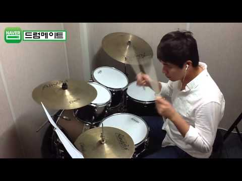 "[Lv.6] ""21Guns-Green Day"" Drum Cover By DRUMMATE (Drum Sheet Music)"