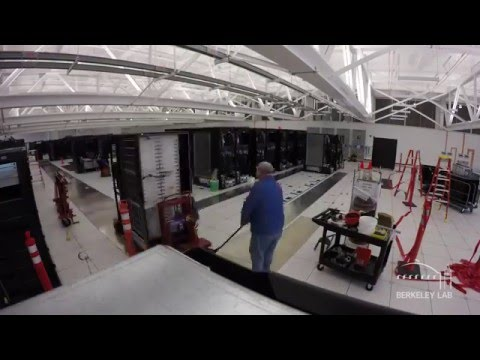TIMELAPSE: Edison Supercomputer Moves from Oakland to Berkeley