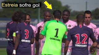 Buffon sofre gol e o PSG perde em sua estreia como titular