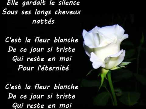 la colline aux coquelicots - la fleur blanche - paroles - youtube