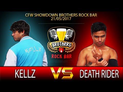 CFW SHOWDOWN Brothers Rock Bar 21/05/2017 - Kellz vs Death Rider
