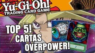 Yu-Gi-Oh Top 5 Cartas Mais Fortes Banidas