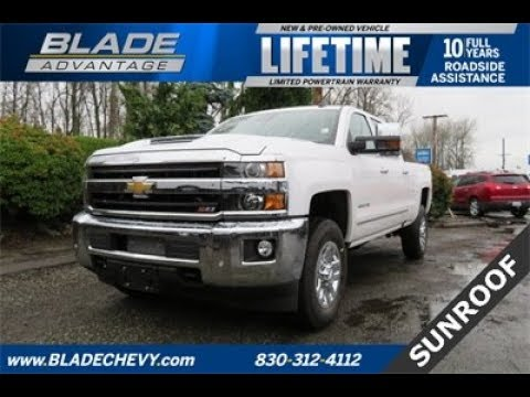 Chevrolet Silverado 3500hd Seattle >> 2018 Chevrolet Silverado 3500HD LTZ 10403 - YouTube