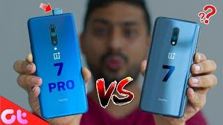 OnePlus 7 vs OnePlus 7 Pro Full Comparison - WHICH ONE TO BUY? | GT Hindi