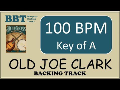 Old Joe Clark  - bluegrass backing track