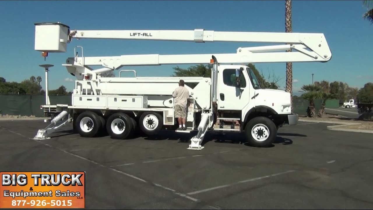 2007 Freightliner M2 6x6 Lift All Lm 75 110 2ms 115