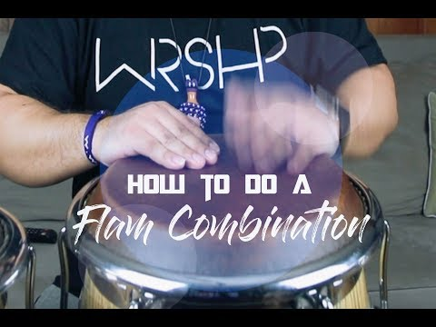 How To Do A Flam Combination