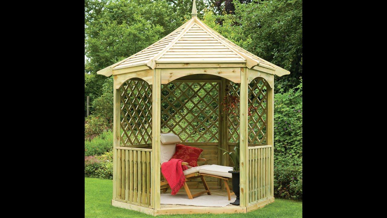 Gazebo Blueprints For Making A Wooden Summerhouse
