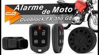 Principais Funções do Alarme de Moto Pósitron Duoblock FX 350 G8 - Connect Parts