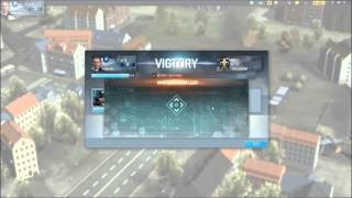 Tom Clancy EndWar online browser game first look gameplay español