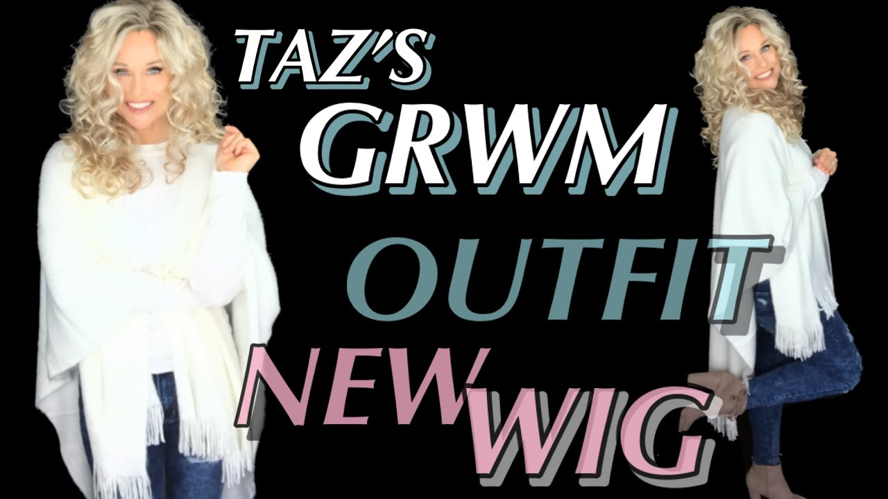 [VIDEO] - GRWM Saturday Evening | Choosing an OUTFIT | See my NEW WIG | Slideshow of FINAL LOOK 1