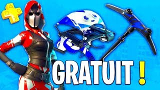 "SEE the PACK ""PS PLUS"" FREE - STARTER PACK #3 on FORTNITE: Battle Royale!!"