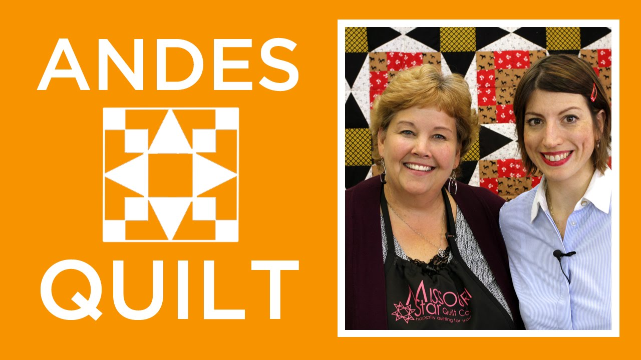 The Andes Quilt with Jenny and Mary Fons - YouTube : youtube quilting tutorial - Adamdwight.com