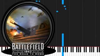 How to play  Theme by Battlefield 1942 on Piano Sheet Music
