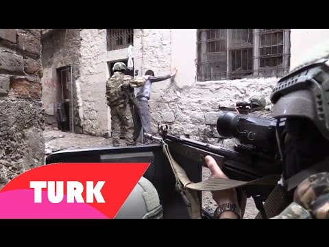 Turkish Security Forces Capture Three Kurdish PKK Terrorists - Recorded With GoPro Cam