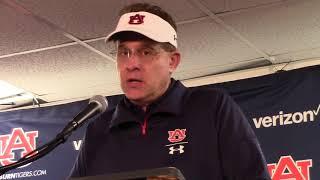Auburn Coach Gus Malzahn--Iron Bowl Postgame