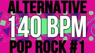 140 BPM - Alternative Pop Rock #1 - 4/4 Drum Track - Metronome - Drum Beat