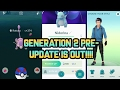New pokemon go pre gen 2 update! (download link in description) android