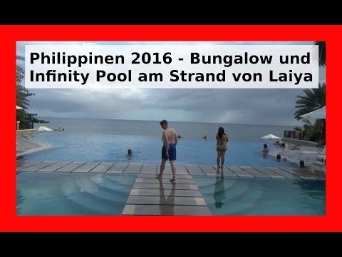 Laiya Philippinen Ausflug ans Meer mit Übernachtung im Aquatico Resort 2017 [Deutsch/German] WLBI