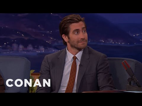 "Jake Gyllenhaal On ""Stronger,"" Jeff Bauman & The Spirit Of Boston  - CONAN on TBS"