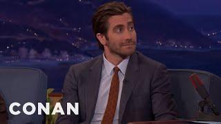 """Jake Gyllenhaal On """"Stronger,' Jeff Bauman & The Spirit Of Boston  - CONAN on TBS"""