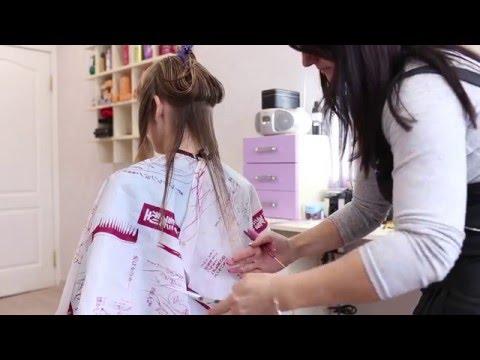 Как лучше подстричь кончики волос