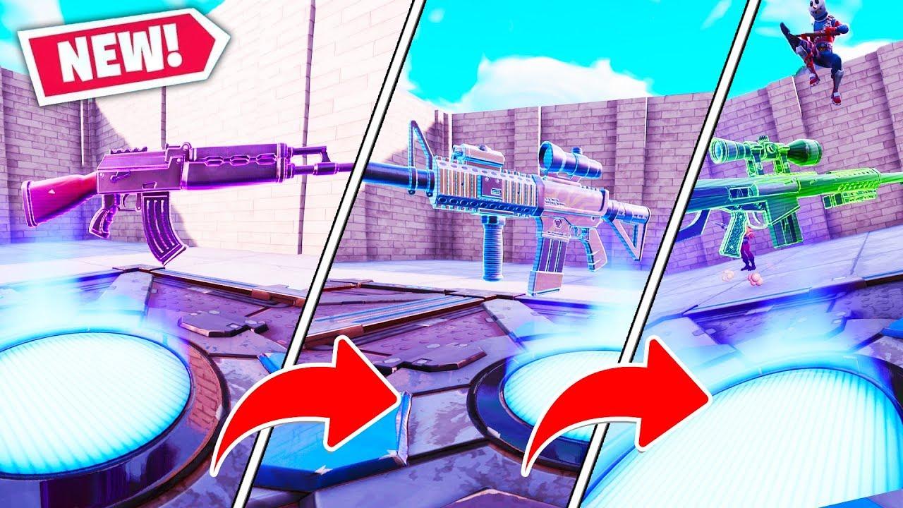 Random Gungame Challenge In Fortnite Creative Mode Fortnite Battle Royale