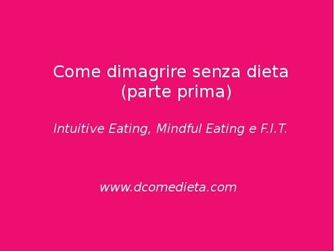 Come dimagrire senza dieta. Mindful, Intuitive, F.I.T (prima parte)